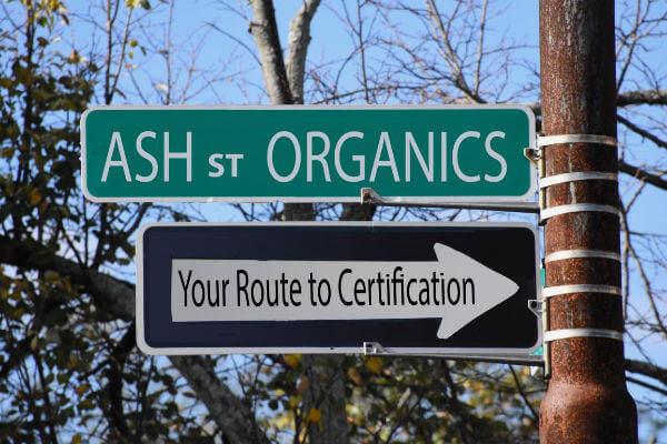 Ash St Organics Logo - Organic Federation of Canada