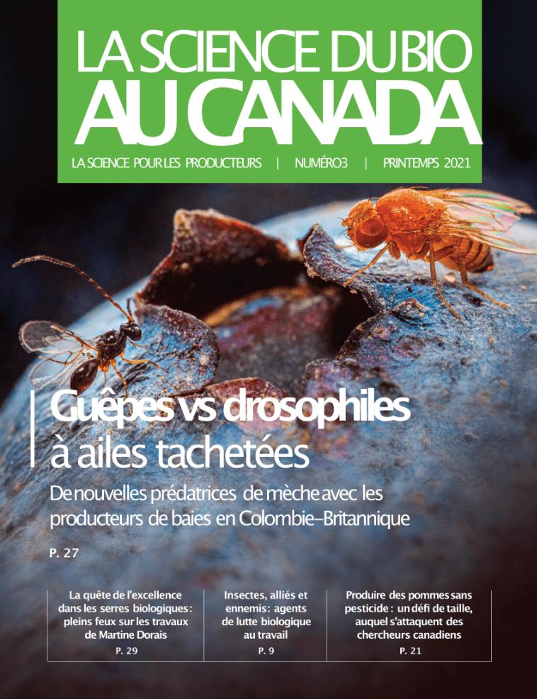 Organic Science Canada - Magazine Cover FR - Issue Spring 2021 - Organic Federation of Canada