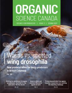 Organic Science Canada - Magazine Cover - Issue Spring 2021 - Organic Federation of Canada